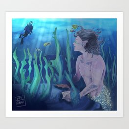 Under the sea.  Art Print