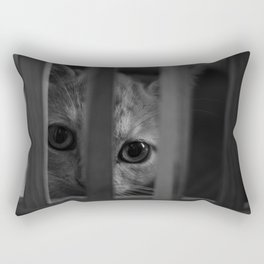 Who Lurks Under The Table? Rectangular Pillow