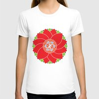 flower pattern T-shirts featuring Flower Pattern by smoothimages