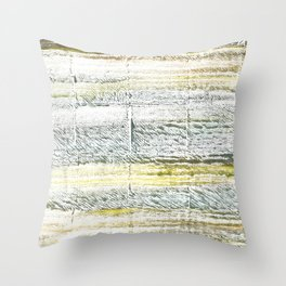Lotion abstract watercolor Throw Pillow