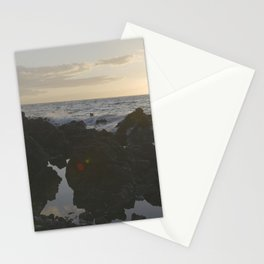 Rocks in the Sea Stationery Cards