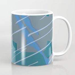 Camouflage City Rain Coffee Mug