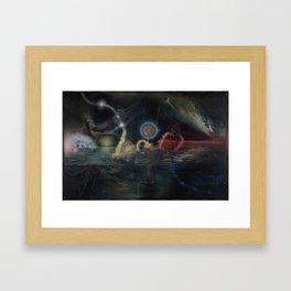 """Twenty Twelve Nataraja"" Framed Art Print"