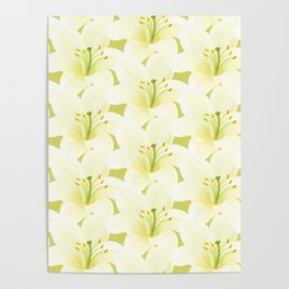 Wedding Lily Poster