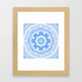 Water Kaleidoscope Framed Art Print