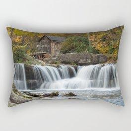 Autumn Grist Mill Rectangular Pillow
