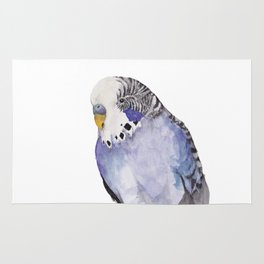 Ron the Budgie Rug