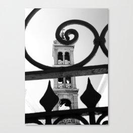 Through the gate Canvas Print
