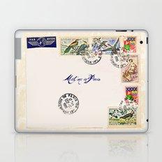 French Postage, meet me in Paris Laptop & iPad Skin