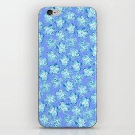 Wallflower - Colony Blue iPhone Skin