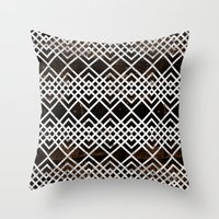 boho Throw Pillows featuring Boho by Grace