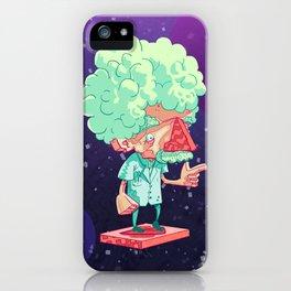 Einstein in Space iPhone Case