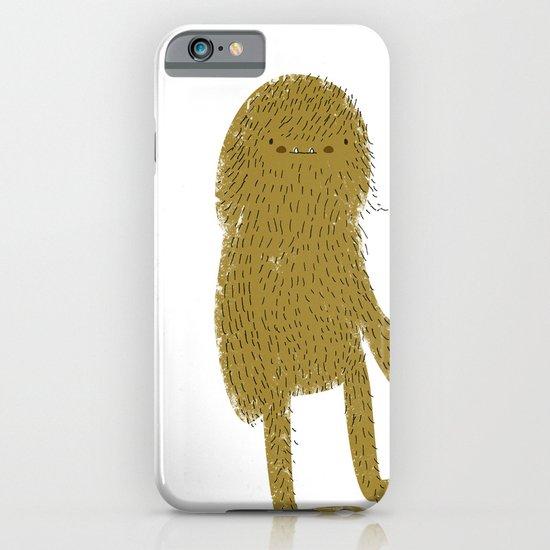 Sasquatch man iPhone & iPod Case
