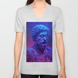 Marcus Aurelius Unisex V-Neck