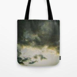 Cielo de metal Tote Bag