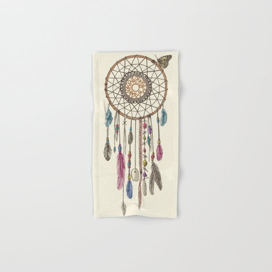Lakota (Dream Catcher) Hand & Bath Towel