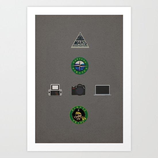 Veronica Mars Art Print