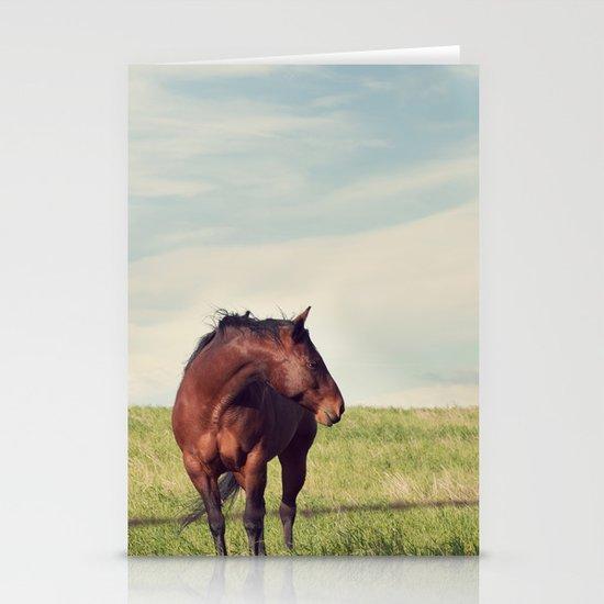 camera shy Stationery Cards