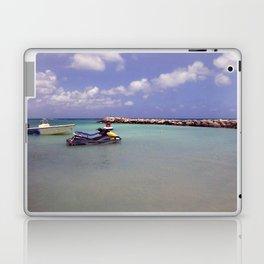 Jetskiing in the Caribbean Laptop & iPad Skin