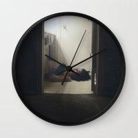 cosmic Wall Clocks featuring COSMIC by Erin Graboski