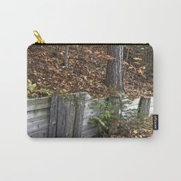 Wood Wall Carry-All Pouch