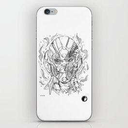 Battle damaged Ultron iPhone Skin