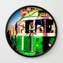 San Francisco F Line Trolly Wall Clock