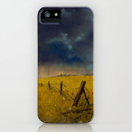 Rolling Thunder Pastel Art Print iPhone Case