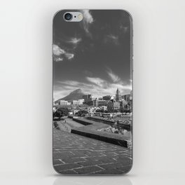 View of Cape Town from The Castle of Good Hope iPhone Skin