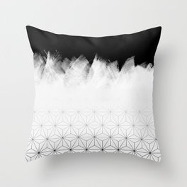 Christmas Geometric Pattern Throw Pillow