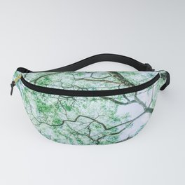 Spooky Tree Branches and Leaves Fanny Pack