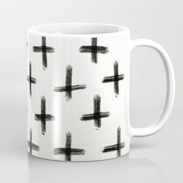 Painted Cross Pattern Coffee Mug
