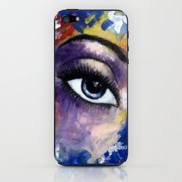 Title: Very Beautiful Eye painting iPhone Skin
