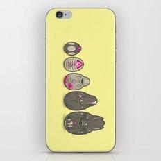 Xenomatryoshka iPhone & iPod Skin