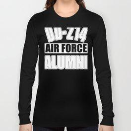 Air Force Design for Men Women Veteran - Gift Retired design Long Sleeve T-shirt