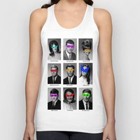 superhero Tank Tops featuring Superhero Academy by Ismael Sandiego