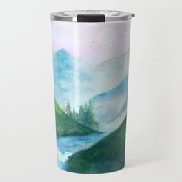 Mountain River Travel Mug