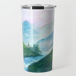 Mountain River Travel Mug