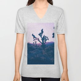 Desert Sunset Unisex V-Neck