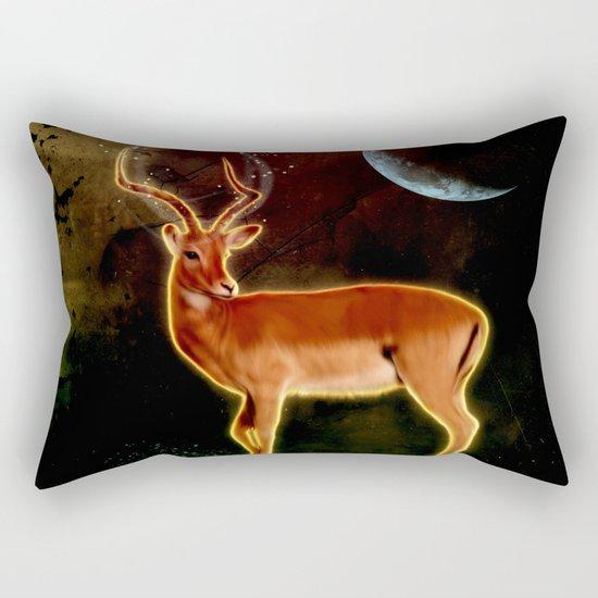 Wonderful antelope Rectangular Pillow