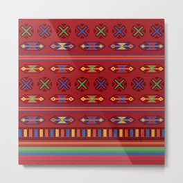 Mexican Mood Metal Print