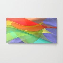 a towel full of colors -15- Metal Print