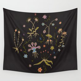 Flora of Planet Hinterland Wall Tapestry