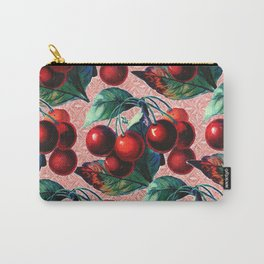 Vintage Cherries Carry-All Pouch