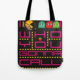 pacman ghostbuster Tote Bag