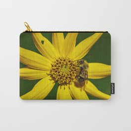 The Bumble and The Sunflower #3 Carry-All Pouch
