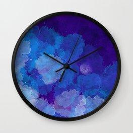 Emergent Moon Wall Clock