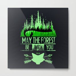 May The Forest Metal Print