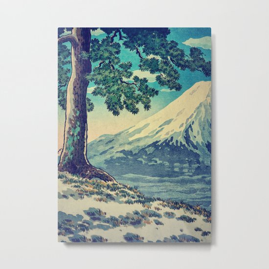 After the Snows in Sekihara Metal Print