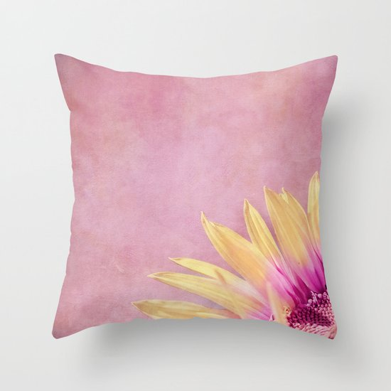 LIKE ICE IN THE SUN Throw Pillow